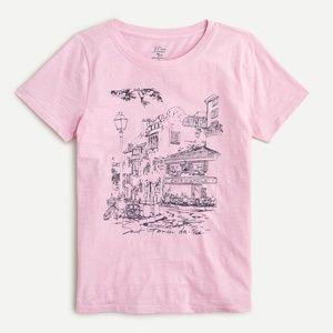J.Crew St. Germain des-Prés T-Shirt, Size XS
